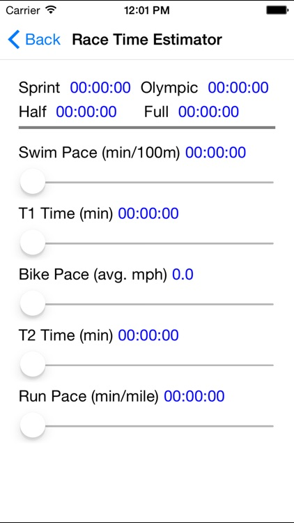 Mobile Tri Trainer screenshot-3