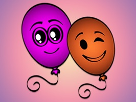 You can enjoy all the balloon stickers and use them in your messages with your friends everyday