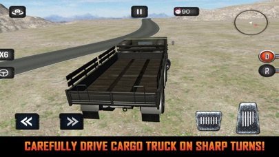 Mission Army Truck Driving screenshot 2