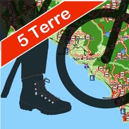 Cinque Terre Trails, Hiker GPS