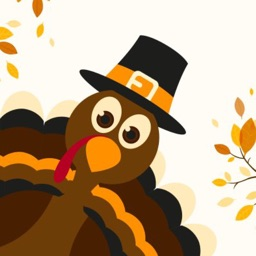 Thanksgiving Turkey Stickers!