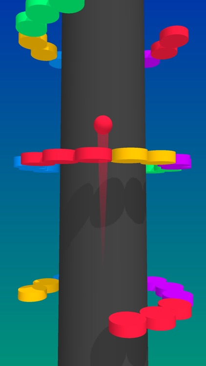 Color Balls Climb- Jump Up screenshot-0