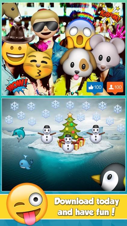edit pics with emojis