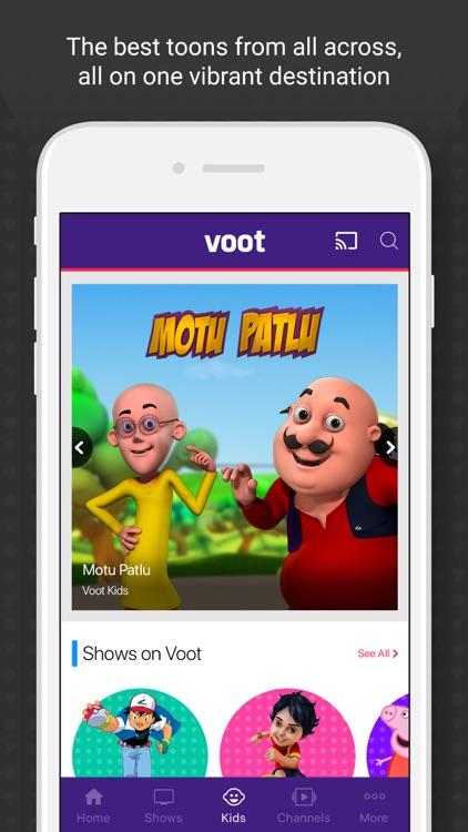 Voot TV Shows Movies Cartoons screenshot-3