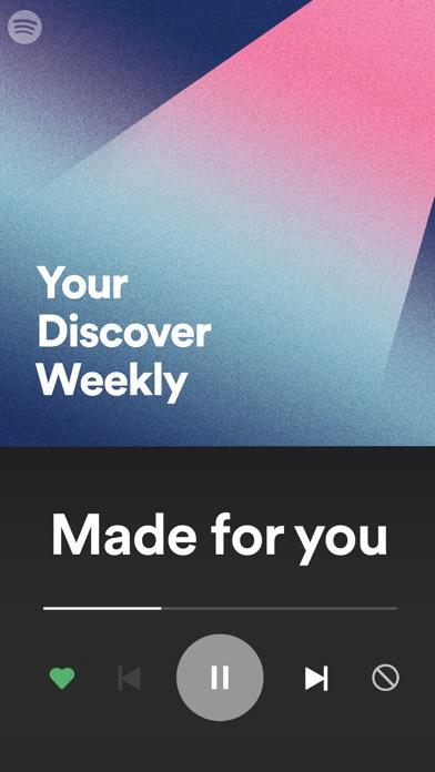Spotify Music Screenshot on iOS
