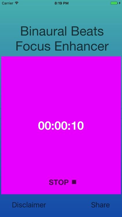 Binaural Beats Focus Enhancer screenshot-4