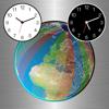 地球儀之城市時鐘