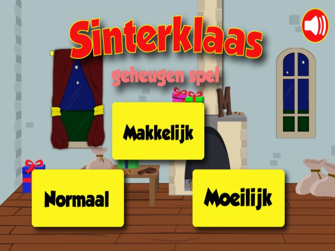 Sinterklaas Geheugen Spelletje App Voor Iphone Ipad En Ipod Touch
