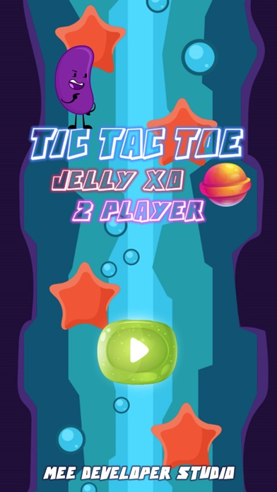 TIC TAC TOE Jelly XO 2 Player - App - Apps Store