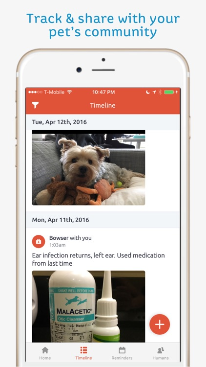 Pawprint - Pet Health Tracker screenshot-4
