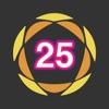 バースト 25