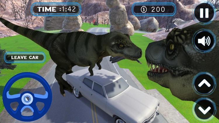Jurassic Dinosaur life escaped