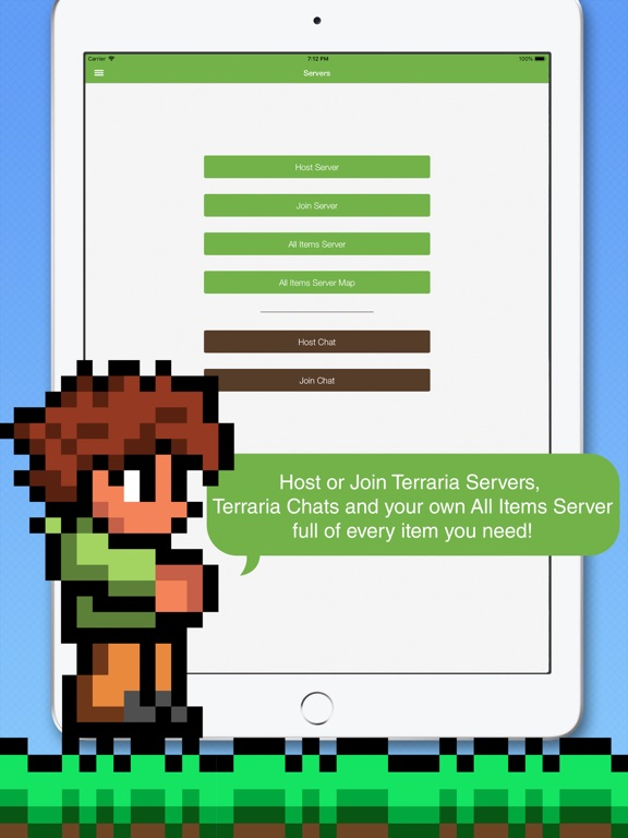 Multiplayer PE for Terraria by Innovative Devs (iOS, United States