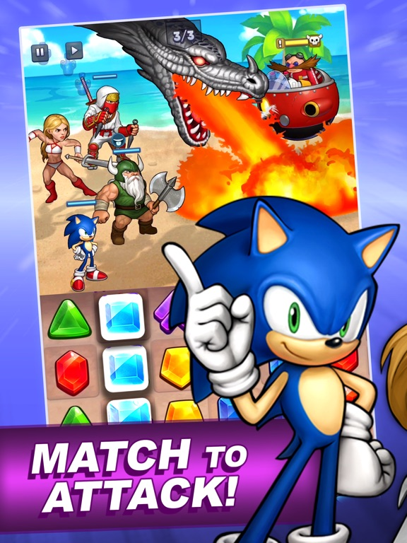SEGA Heroes: Match 3 RPG Game screenshot 8