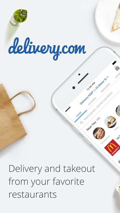 Deliverycom review screenshots