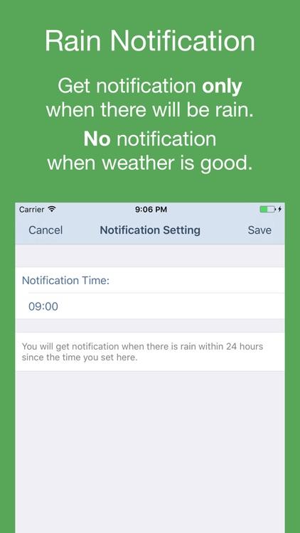 PP Weather & Rain Alert