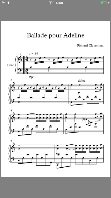 Classic Piano Scores screenshot-4