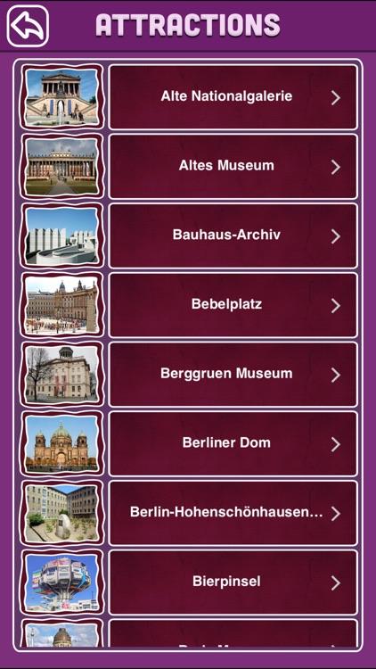 Berlin Offline Map Travel Guide screenshot-3