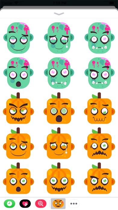Eeriemoji - Halloween Stickers screenshot 3