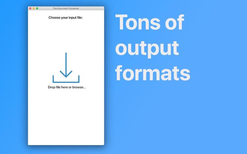 The Document Converter Screenshot