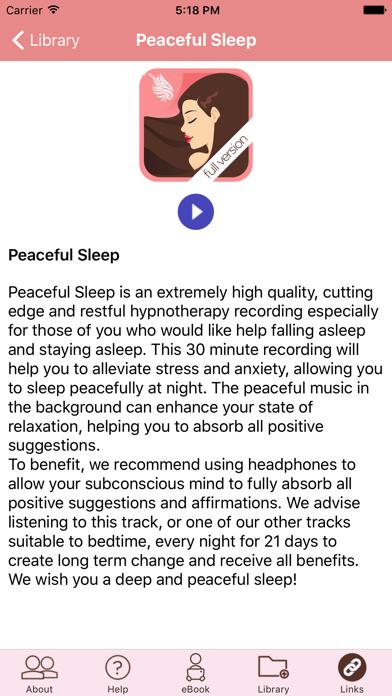 Peaceful Sleep Hypnosis Full Versionのおすすめ画像4