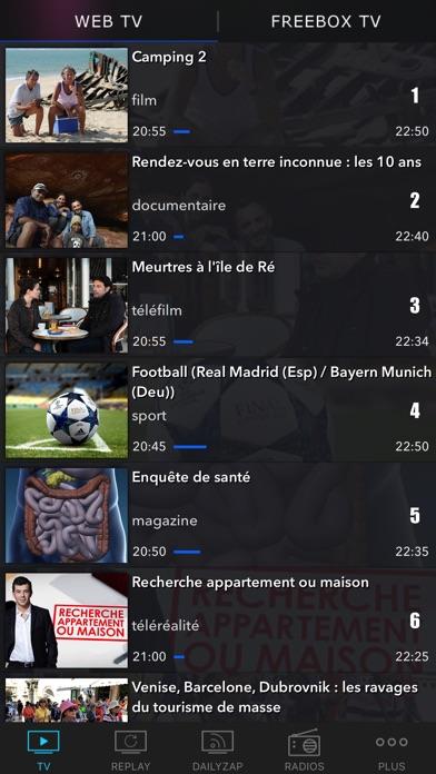 download TV en direct, Replay, Guide TV apps 0