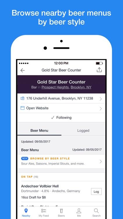 BeerMenus - Find Great Beer screenshot-4