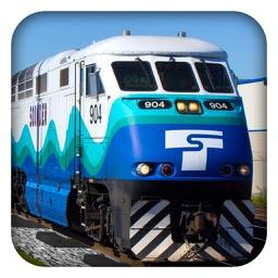 Passenger Train Driver 2017 - City Train Simulator