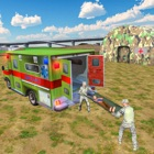 Army Ambulance Rescue Sim icon