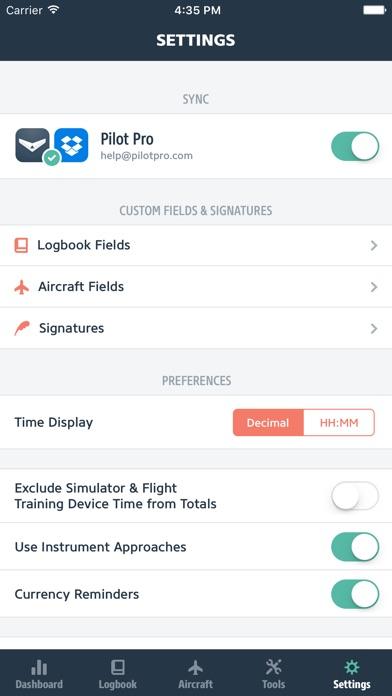 Pilot Pro (version 3) review screenshots