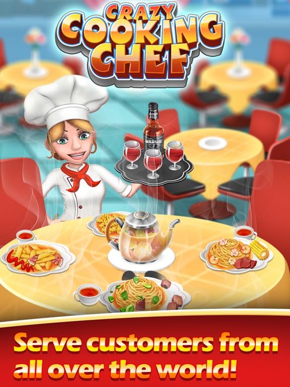Сумасшедший повар-мастер кухни на iPad