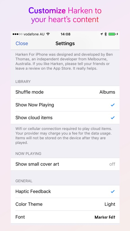 Harken Music and Podcast Player for iPhone screenshot-4