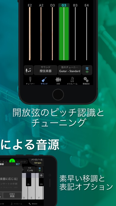 Screenshot for TonalEnergyチューナーとメトロノーム in Japan App Store
