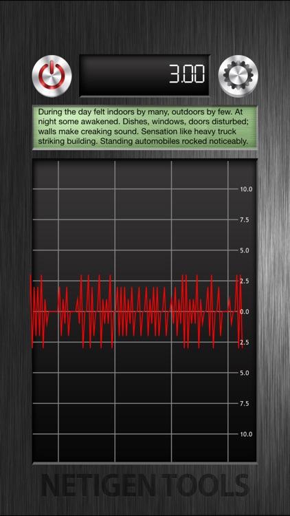 The Best Vibration Meter screenshot-3