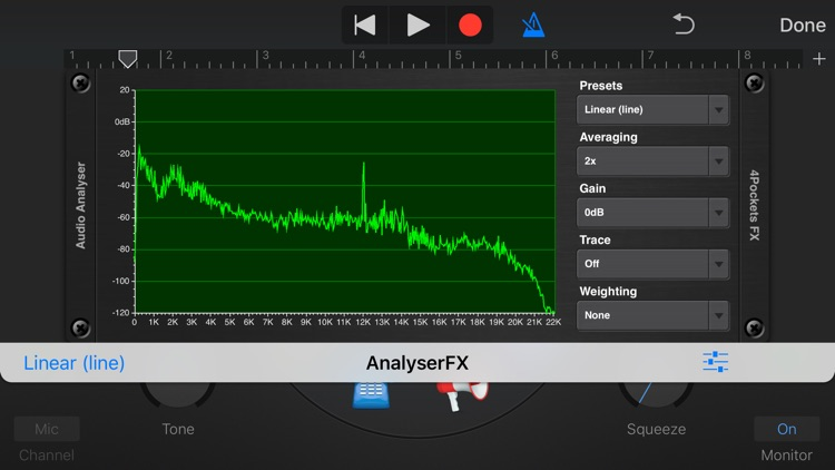 Analyser & Tuner AUv3 Plugin screenshot-2