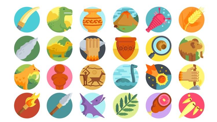 Prehistoric Stickers.