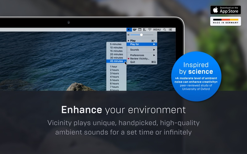 Vicinity for Mac