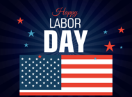 Labor Day Stickers Pack!