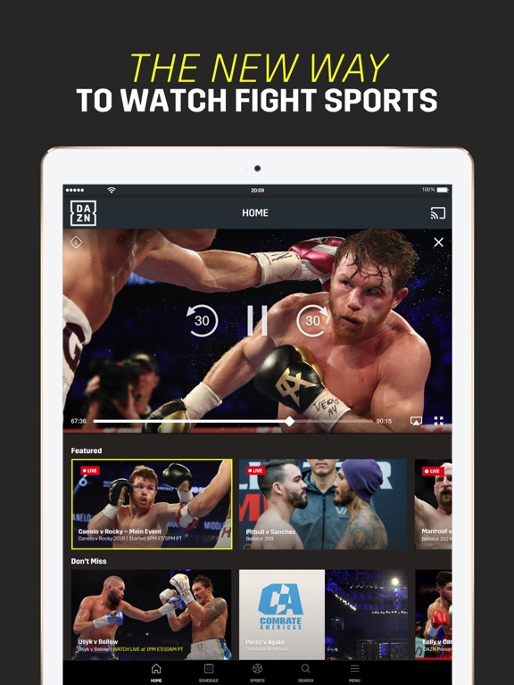 DAZN: Live Sports Streaming screenshot 9
