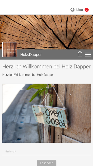 Holz Dapper screenshot one
