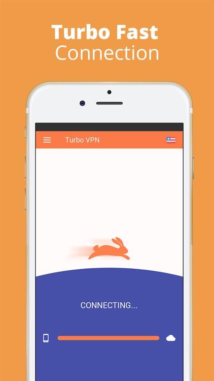 Turbo VPN - unlimited Fast VPN screenshot-3