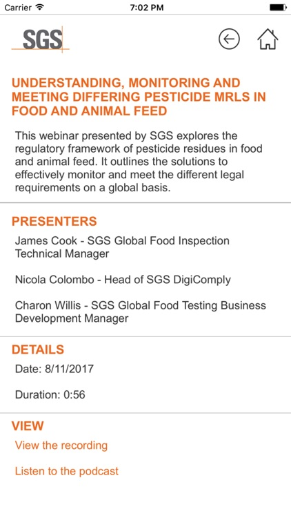 AGRI-FOOD Address Book by SGS Group Management SA