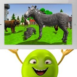 Wild Animal Zoo simulator
