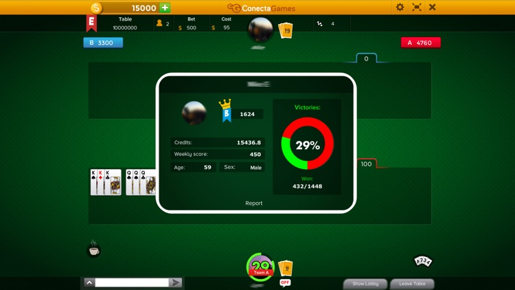 Canasta Hand And Foot screenshot-2