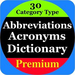 Abbreviations & Acronyms Pro