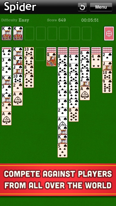 Spider Solitaire Classic Cards