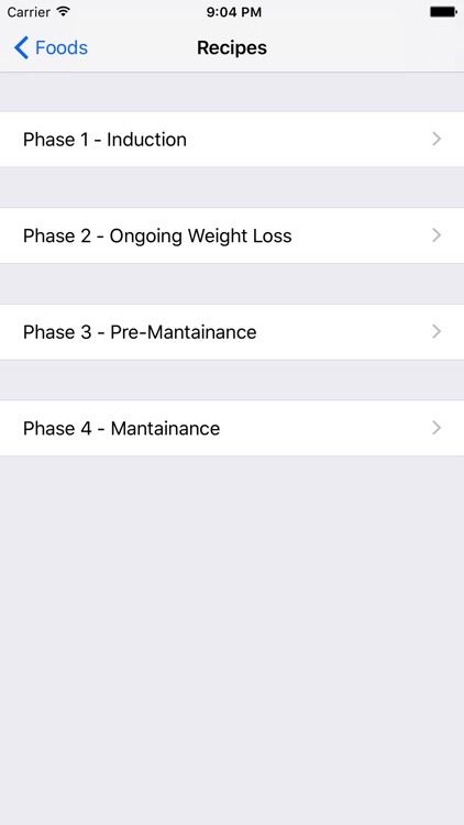 Atkins Diet Macros Tracker