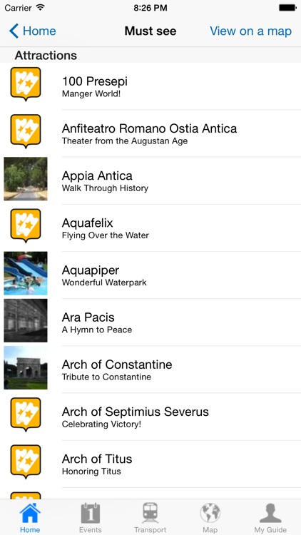 Rome Travel Guide Offline screenshot-3
