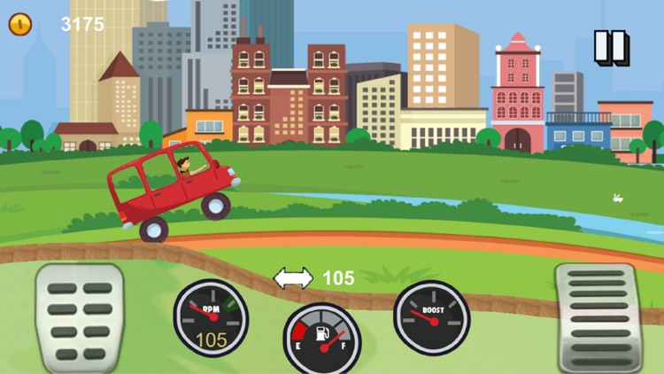 Angry Driver Hill Racing