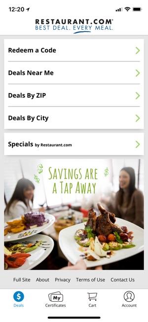 Restaurant com on the App Store